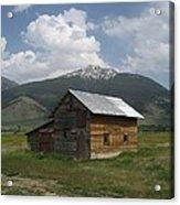 Paradise Valley Montana Acrylic Print