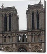 Paris France - Notre Dame De Paris - 01133 Acrylic Print