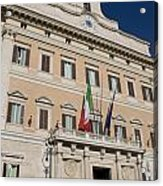 Parliament Building Rome Acrylic Print