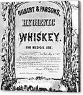 Patent Medicine Poster Acrylic Print