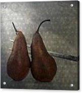 Pears Acrylic Print
