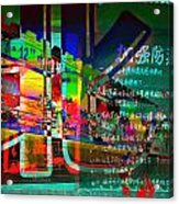 People In Lanzhou China Acrylic Print