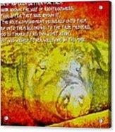 2 Peter 2 2122 Acrylic Print