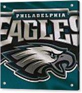 Philadelphia Eagles Uniform Acrylic Print