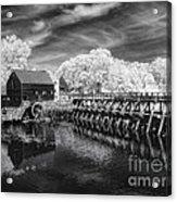Philipsburg Mill Acrylic Print