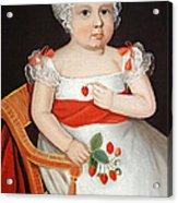 Phillips' The Strawberry Girl Acrylic Print