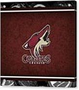 Phoenix Coyotes Acrylic Print