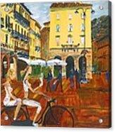 Piazza De Como Acrylic Print