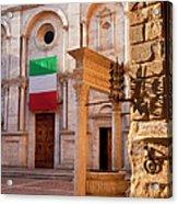 Pienza Tuscany Acrylic Print