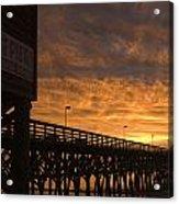 Pier Myrtle Beach Sc Acrylic Print