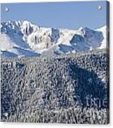 Pikes Peak Snow Acrylic Print