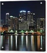 Pittsburgh Panorama Acrylic Print