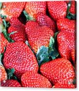 Plant City Strawberries Acrylic Print
