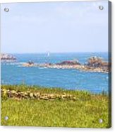 Pointe Du Grouin - Brittany Acrylic Print