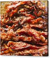 Pork Jerky-chinese Style Dried Meat Pieces Acrylic Print