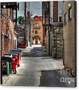 Portrait Alley Acrylic Print