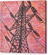Power Acrylic Print