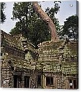 Preah Khantemple At Angkor Wat Acrylic Print