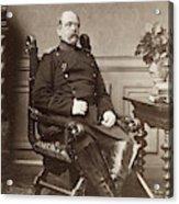 Prince Otto Von Bismarck (1815-1898) Acrylic Print