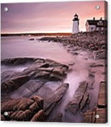 Prospect Harbor Light Acrylic Print