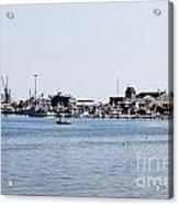 Provincetown Harbor Acrylic Print