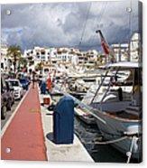 Puerto Banus Marina Acrylic Print