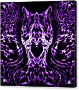 Purple Series 4 Acrylic Print