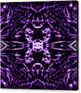 Purple Series 9 Acrylic Print