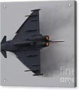 Raf Typhoon Acrylic Print