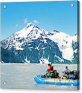 Rafters On The Alsek River Acrylic Print