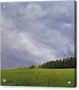 Rainbow After A Storm Acrylic Print