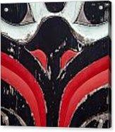 Raven Totem Figure 3 Acrylic Print