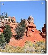 Red Canyon - Utah Acrylic Print