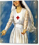Red Cross Poster, 1918 Acrylic Print