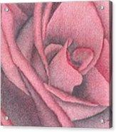 Red Jewel Acrylic Print