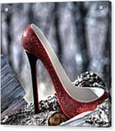 Red Shoe Acrylic Print