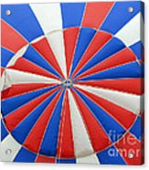 Red White And Balloon  Acrylic Print