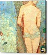 Redon's Saint Sebastian Acrylic Print