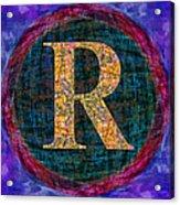 Registered Trademark Symbol Acrylic Print