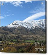 Remarkables Mountains Acrylic Print