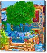 Colourful Restaurant Acrylic Print