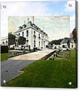 Richard Gambrell Residence In Newport Rhode Island Acrylic Print