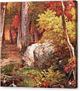 Richards' October Acrylic Print