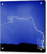Rincon Lightning Acrylic Print