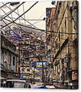 Rio De Janeiro Brazil - Favela Acrylic Print