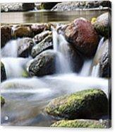 River Rocks Acrylic Print