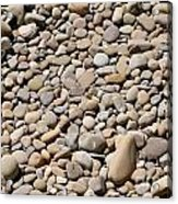 River Rocks Pebbles Acrylic Print