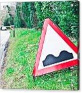 Road Sign Acrylic Print