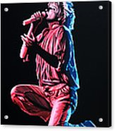 Rod Stewart Acrylic Print