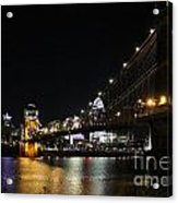Roebling Suspension Bridge 9939 Acrylic Print